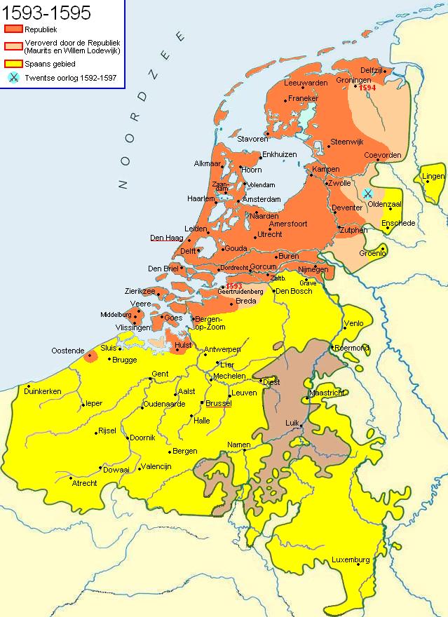Nederland 16e eeuw