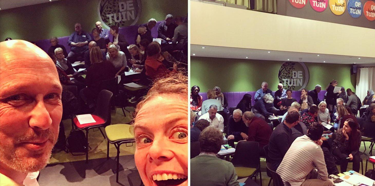 workshop Nt1, Theatergroep De Koning Speelt, Taal met heel je lijf en leden